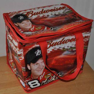 BUDWEISER BEER DALE EARNHARDT JR. NASCAR 24 12 FL OZ CANS COOLER BAG