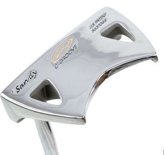 "New LH Yes C Groove Sandy 34"" Putter"