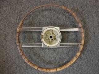 1940S CADILLAC PONTIAC OLDSMOBILE BUICK CHEVROLET BANJO STEERING WHEEL