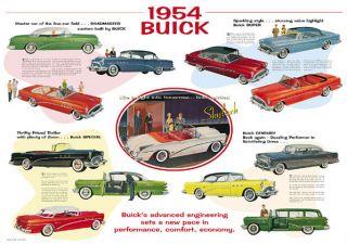 New Buick 322 V 8 Pistons Rings Kit Rod Main Bearings 1953 1954 1955