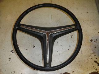 1971 1972 1973 Buick Riviera GS Stage 1 Black Steering Wheel