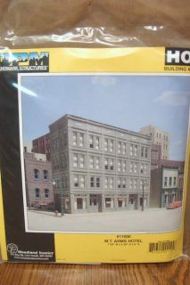 DESIGN PRESERVATION MODELS M.T. ARMS HOTEL HO SCALE BUILDING KIT