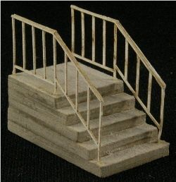 GC Laser Building Kit HO Add On Single Stairs 2 Pack !