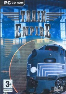 TRAIN EMPIRE   Build & Manage Train Simulation   PC Game   NEW in BOX!