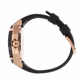 Bulova Mens Stainless Steel Case Date Black Polyurethane Watch 98B152