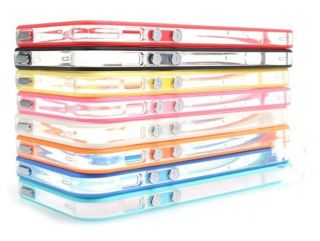 New Bumper Frame Style TPU PC Case Skin for Apple iPhone 5 5g 5th