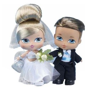 Babyz Bride Groom Doll Set Cloe Cade with Diamond Ring for You