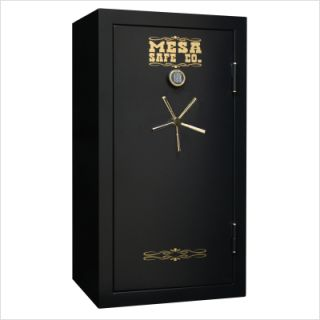 Mesa Safe Co. Burglar and Fire Resistant Gun Safe (10  20 Gun Capacity