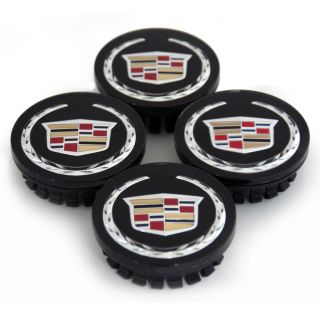 New Fits Cadillac STS cts Center Caps Cap Factory Black