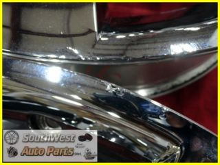 10 11 CADILLAC SRX 20 6X120MM CHROME CLAD WHEELS USED OEM FACTORY SET