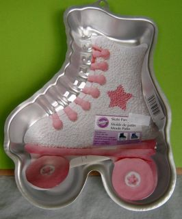 Roller Skate Cake Pan Pans Bakeware New from Wilton