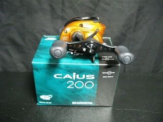 SHIMANO CAIUS CIS 200 RIGHT HANDED LOW PROFILE BAITCASTING REEL 6 5 1