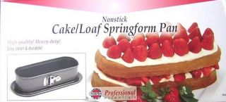 New 10 Nonsick Loaf Cake Springform Pan Cheesecake