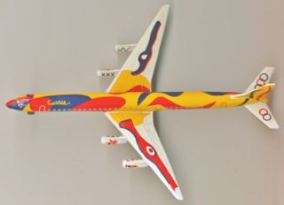 Braniff Calder Jet Airline Airplane DC 8 Model Replica Schabak Germany