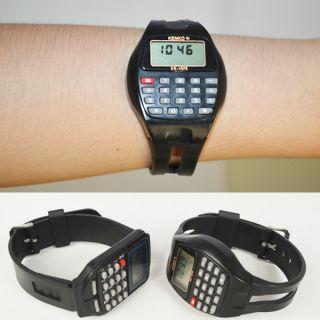 1pc Multifunction Electronic Digital Calculators Wrist Watch 3 Styles