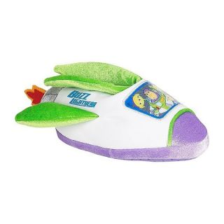 Toy Story 3 Buzz Lightyear Disney Boys Plush Slippers Sz 7 8 9 10 or