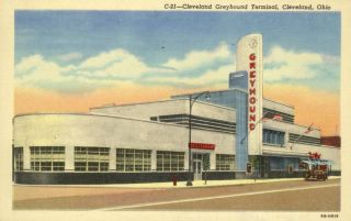 Cleveland Greyhound Bus Terminal Cleveland Oh