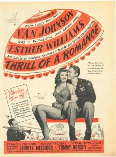 1945 Van Johnson Esther Williams Frances Gifford Henry Travers Love
