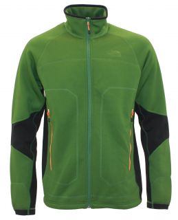 NEW The North Face Mens STEALTH BYRON FULL ZIP fleece jacket GREEN nwt