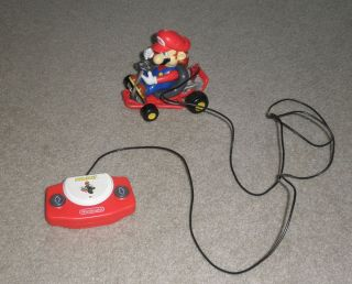 MARIOKART SUPER MARIO R C REMOTE CONTROL CAR LIGHTS UP NINTENDO