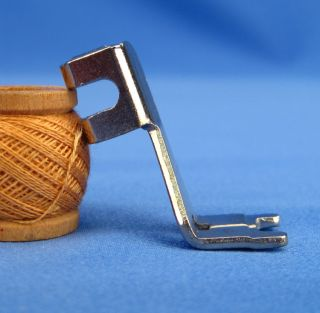 Vintage Singer Slant Needle Button Foot Sewing Machine Attachment