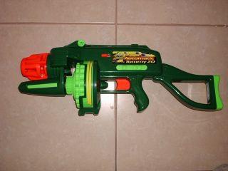 Buzz Bee Toys Nerf TOMMY 20 Motorized Automatic Air Blaster Dart Gun