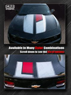 Chevrolet Camaro 45th Anniversary Style Stripes Hood Trunk 2010 2011