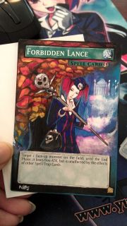 Altered Art Common Forbidden Lance as Tour Guide of The Underworld
