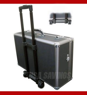 Aluminum Camera Case W Wheels For CAMCORDERS