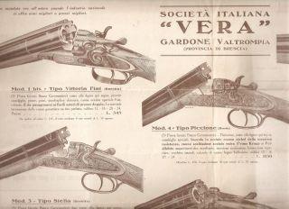 Vera Beretta Gardone Val Trompia Armi E Fucili Da Caccia 1929