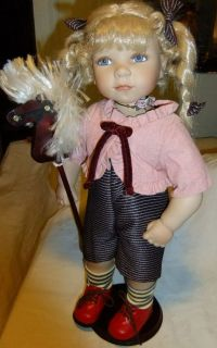 Mann Signature Series Collection Doll By J.C.Lee Boxed COA Tags. # 248