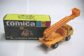 tomica tomica 88 nissan caball skymaster cw made in japan box size 8cm