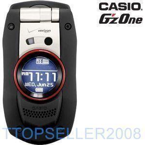 Casio Boulder Black Verizon C711 Camera Cell Phone Good