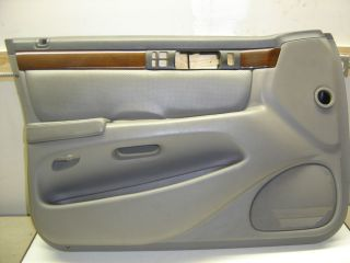 cadillac sts drivers side door panel