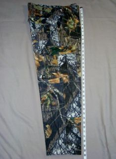 Mossy Oak hunting camo camouflage pants boys or small mens 32 30