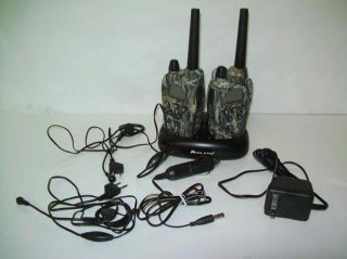 information midland two way radios gxt950 frs gmrs 30 mile camo