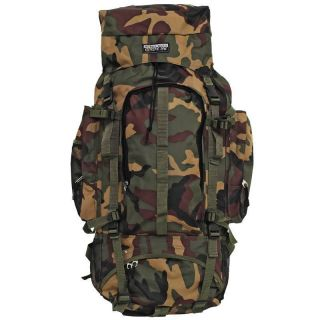 ™ Camouflage Water Repellent Heavy Duty Mountainer Backpack