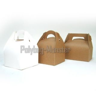 Cup Cake Favour Boxes Wedding Party White 10x10x14 Cm