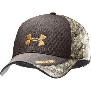 Under Armour Mens AllSeasonGear Camo Back Stretch Fit Cap hat M L