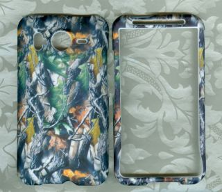 Camo Fussy HTC Inspire 4G at T Phone Cover Hard Case