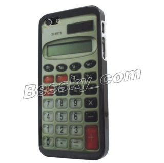 New Fashion Calculator Pattern Skin Hard Back Case Cover for Apple