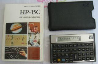 Vintage HP 20s Scientific Calculator Works HP20S Hewlett