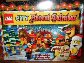 LEGO CITY #7907  2007 Advent Calendar  232 pcs. RETIRED NISB