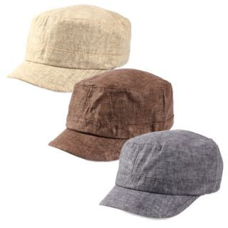 Cool Hemp New Military Style Spring Summer Cadet Hat 306HT
