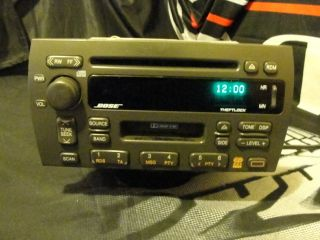 1998 2001 Cadillac Seville Bose CD Cassette Car Stereo Radio 09354806