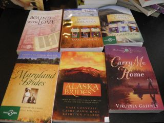 Lot of 6 Christian Romance Books by Various Authors
