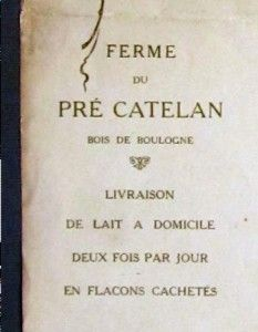 1911 George Redon Art Menu Cafe de Paris Armenonville Foyot