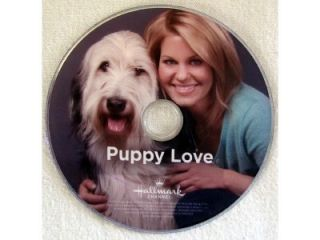HALLMARK CHANNEL PUPPY LOVE DVD CANDACE CAMERON, VICTOR WEBSTER