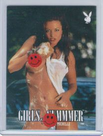 WWE Diva Candice Michelle Girls of Summmer Base Card Smile