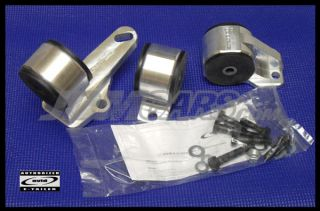 Avid Racing Billet Engine Mounts Honda EF Civic CRX Cable B Swap B16